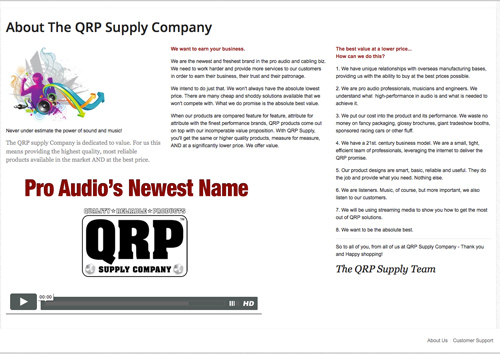 e-commerce qrp about1